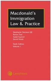 Macdonald's Immigration Law & Practice 10th edition cover