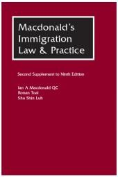 Macdonald's Immigration Law & Practice Second Supplement to the 9th edition cover