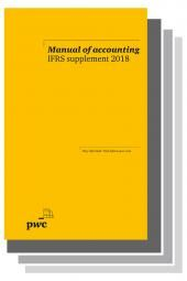 Manual of Accounting IFRS 2018 Set cover