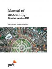Manual of accounting - Narrative reporting 2020 eBook cover