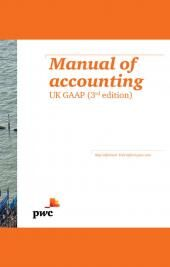 E BOOK Manual of Accounting: UK GAAP Third edition cover