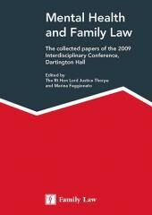 Mental Health and Family Law cover
