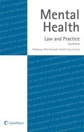 Mental Health: Law and Practice 2nd edition cover