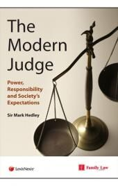 The Modern Judge: Power, Responsibility and Society's Expectations cover