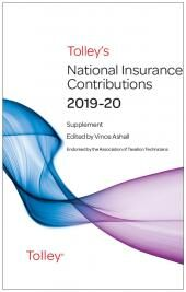 Tolley's National Insurance Contributions 2019-20 Supplement cover