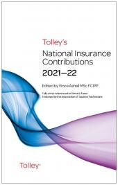 Tolley's National Insurance Contributions 2021-22 Main Annual cover