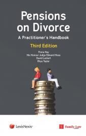 Pensions on Divorce: A Practitioner's Handbook Third Edition cover
