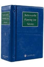 Butterworths Planning Law Service cover