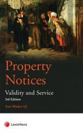 Property Notices: Validity and Service Third edition cover