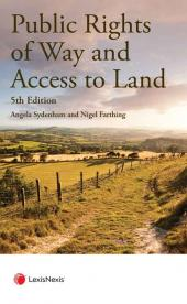 Public Rights of Way and Access to Land Fifth edition cover