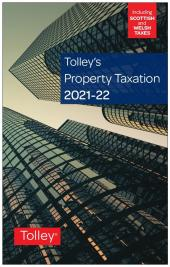 Tolley's Property Taxation 2021-22 cover