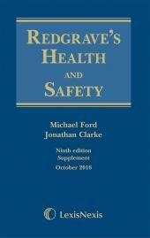 Redgrave's Health and Safety 9ed (Print and eBook) cover