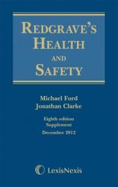 Redgrave's Health and Safety 1st Supplement to Eighth edition eBook cover