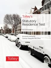 Tolley's Statutory Residence Test Second edition cover