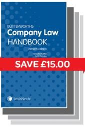 Butterworths Company Law Handbook 30th edition & Tolley's Company Secretary's Handbook 26th edition Set cover