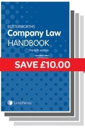 Butterworths Company Law Handbook 30th edition & Tolley's Company Law Handbook 24th edition cover