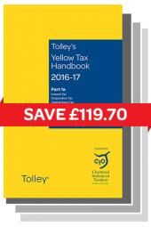 Yellow & Orange Tax Reference Set 2 2016-17 cover