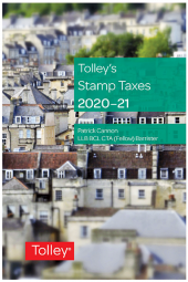 Tolley's Stamp Taxes 2020-21 cover