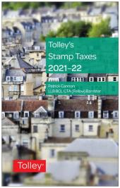 Tolley's Stamp Taxes 2021-22 cover