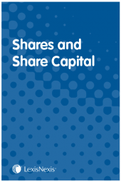 Shares and Share Capital cover