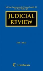 Supperstone, Goudie and Walker: Judicial Review Fifth edition eBook cover