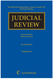 Supperstone, Goudie & Walker: Judicial Review First Supplement to the Sixth edition cover