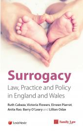 Surrogacy: Law, Practice and Policy in England and Wales cover
