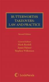 Takeovers: Law and Practice 2ed eBook cover