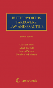 Takeovers: Law and Practice 2ed (Print and eBook) cover