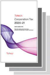 Tolley's Tax Annuals Set 2020-2021 (Main Works Only) cover