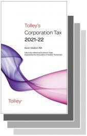 Tolley's Tax Annuals Set 2021-2022 (Main Works Only) cover