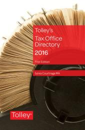 Tax Office Directory 2016 First edition cover