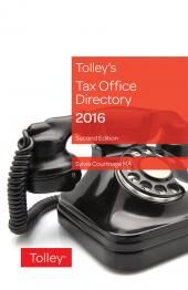 Tax Office Directory 2016 Second edition cover