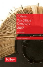 Tax Office Directory 2017 First edition cover