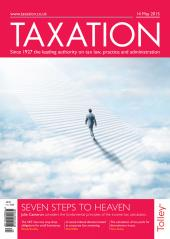 Taxation Magazine cover