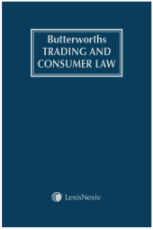 Butterworths Trading and Consumer Law cover