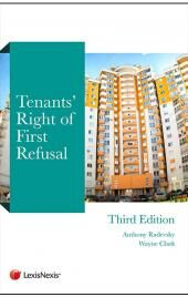Tenants' Right of First Refusal 3rd edition cover