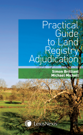 Practical Guide to Land Registry Adjudication cover