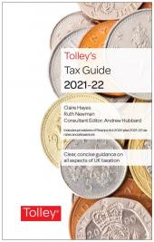 Tolley's Tax Guide 2021-22 cover