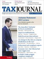 The Tax Journal cover