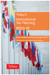 Tolley's International Tax Planning 2020-21 cover