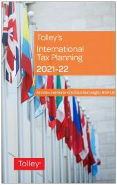 Tolley's International Tax Planning 2021-22 cover