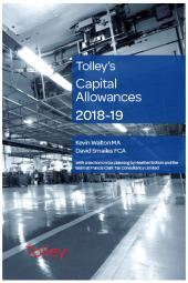Tolley's Capital Allowances 2018-19 cover