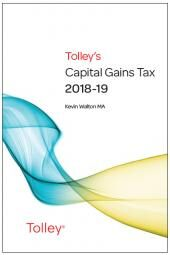 Tolley's Capital Gains Tax 2018-19 Main Annual cover