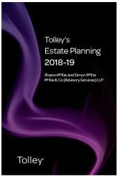 Tolley's Estate Planning 2018-19 (Part of the Tolley's Tax Planning Series) cover