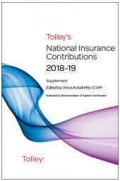 Tolley's National Insurance Contributions 2018-19 Supplement cover