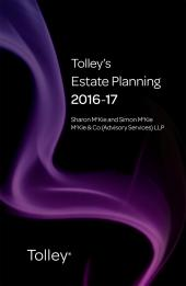 TolleyLibrary Light Tolley's Estate Planning 2016 and Print cover