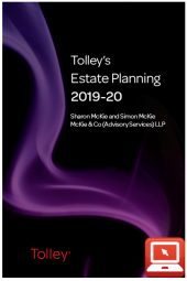 TolleyLibrary Light Tolley's Estate Planning 2019 and Print cover