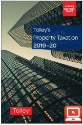 TolleyLibrary Light Tolley's Property Taxation 2019 and Print cover