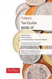 TolleyLibrary Light Tolley's Tax Guide 2016 and Print cover